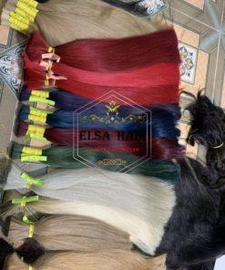Warm color hair
