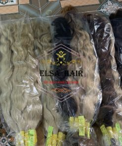 Bulk wavy hair extension