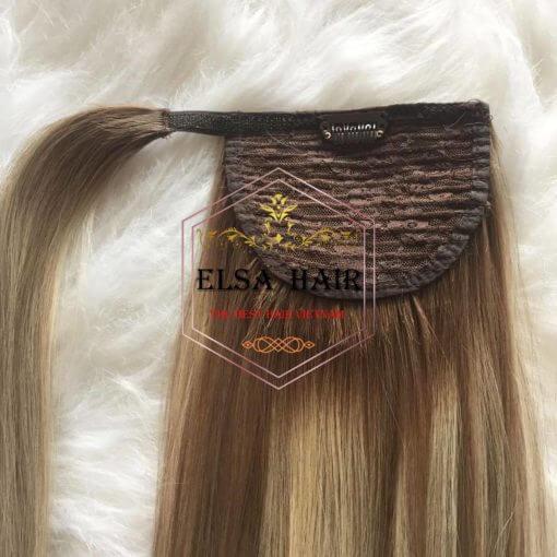 Ponytail hair clip in hair